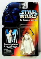 "STAR WARS The Power of the Force PRINCESS LEIA ORGANA 3.75"" Action Figure NEW"