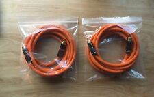 Pro RCA 1.5m (x2) CABLES: LINE for Beolab 6000, Penta3, Pre>power, Source >Amp