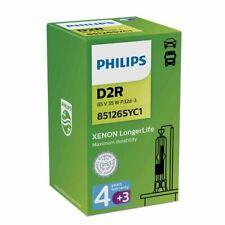 PHILIPS LongerLife D2R Xenon Single Bulb 35W P32d-3 85126SYC1 7 Years Warranty
