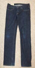 Hollister Damen Blau Denim Jeans Röhrenjeans Größe W32 L34