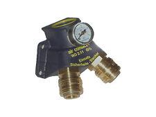 Druckluftverteiler Druckluftdose Wanddose Luftverteiler 2 Kupplungen Manometer