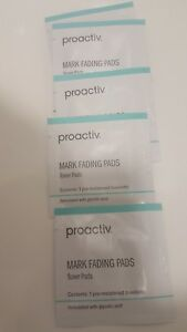 2 x Proactiv Mark Fading Pads.Toner Pads. 5 x Packettes. Spot Control, Clr Skin.