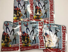 5 Hasbro TRANSFORMERS Wall Walkers Mystery Packs NEW - Autobots - Decepticons