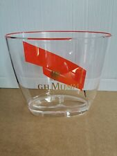 1 x G. H. MUMM CHAMPAGNE ICE BOTTLE BUCKET NEW