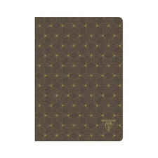 Clairefontaine Neo Deco notebook - A5 Lined - Mahogany Constellation