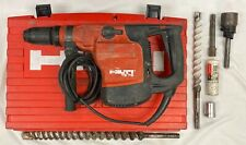 Hilti Te 76 Corded Rotary Hammer Drill Withcase And Bits