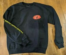 Loot Crate Lord of the Rings Lotr Eye of Sauron Pullover Sweatshirt Medium New