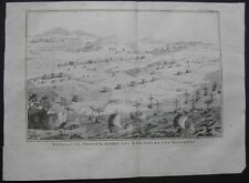 "LOMBARDIA - CASSANO, ""Plan de la Bataille de Cassano"". Anno 1730."