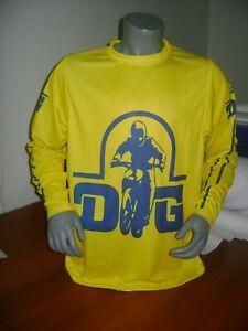 DG OLD SCHOOL BIKE JERSEY CLASSIC BMX JERSEY RACE BIKE SHIRT BMX VINTAGE XL MOTO
