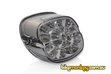 Harley Davidson Dyna Switchback FLD Integrated LED Tail Light in Smoked Lens