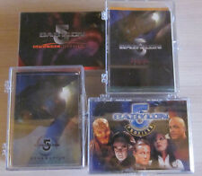 Babylon 5 - 4 Trading Card Sets  - Skybox