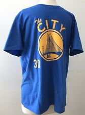 Stephen Curry New Balance Golden State Warriors NBA T-Shirt Size Large Rare
