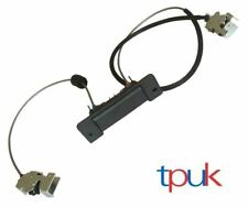 FORD TRANSIT REAR DOOR LOCK LATCH UPPER & LOWER CABLE HANDLE MK6 MK7 2000-2013