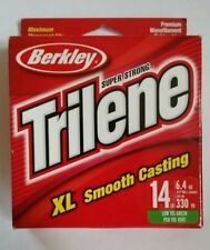 Berkley Trilene XL Smooth Casting-14lb- 330yd Spool Low Vis Green Fishing Line