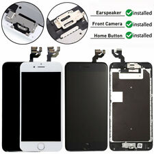 For iPhone 6S 6 Plus LCD Touch Digitizer Screen Replacement +Home Button +Camera