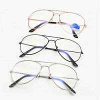 Unisex Eyewear Anti Blue Light Glasses Frame Double Beam Spectacles Eyeglasses