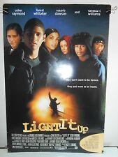 Light It Up (1999) Original Double Sided Movie Poster Usher Rosario Dawson 27x40