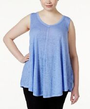 New Calvin Klein Performance Women Relaxed Icy Wash Yoga Tank Top PF6X3412 $49