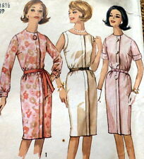 LOVELY VTG 1960s DRESS Sewing Pattern BUST 39