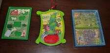 "Lot fo 3 Puzzle Toys DR SEUSS ""HOW THE GRINCH STOLE CHRISTMAS"" ORNAMENT"