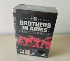 PS3 BROTHERS IN ARMS HELL'S HIGHWAY LIMITED COLLECTOR ITALIANO NUOVO SIGILLATO