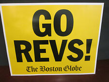 Major League Soccer-The Revolution- Go Revs-& Heroes Of 1998 2 Sided Sign11X14