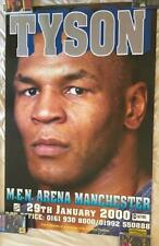 Mike Tyson vs Julius Francis Original Fight Billboard Poster Large 60 x 40 inch