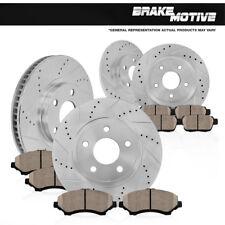 Front & Rear Brake Rotors + Ceramic Pads 2008 2009 2010 2011 2012 - 2015 Mazda 5