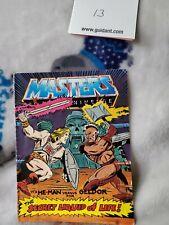 1983 Masters of the Universe He-Man VERSUS GELDOR SECRET OF LIFE Comic Book 13