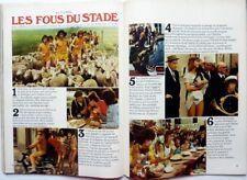 *LES CHARLOTS (Les fous du stade) => COUPURE DE PRESSE 4 pages 1972 // CLIPPING