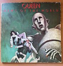 "QUEEN,NEWS OF THE WORLD,RARE VINTAGE 1ST PRESS 1977 ALBUM,12"" LP33,VG,VG+ VINYL"