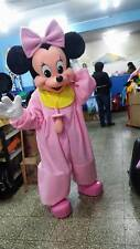 Baby Minnie Mouse Mascot Fancy Costume Cartoon Party Adult Size