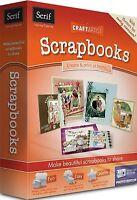 SERIF CRAFT ARTIST SCRAP BOOKS. BRAND NEW RETAIL BOX.   FAST / FREE SHIPPING!