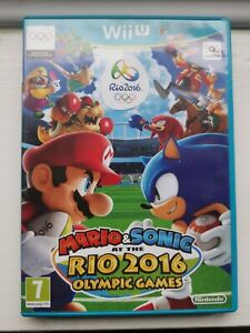 Nintendo Wii U - Mario & Sonic at the Rio 2016 Olympic Games - FREE POST UK