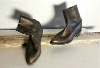Vintage BUILTRITE Men's Brown Ankle Boots Sz 13 #305