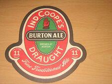 VINTAGE IND COOPE'S BEER MAT / No 11 IN SERIES - BURTON ALE --