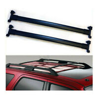 For 07-17 Ford Expedition Black Roof Rack Cross Bar Luggage Carrier Bar OE Style