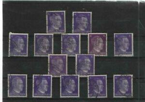 Deutsches  Reich Mi.- Nr. 14 x 785  (278)