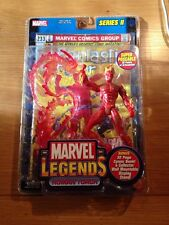 Marvel Legends Toy Biz Human Torch Action Figure, Series 2 MOC Sealed