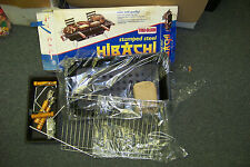 new hibachi tru-burn stamped steel charcoal grill tailgate boating camping fish