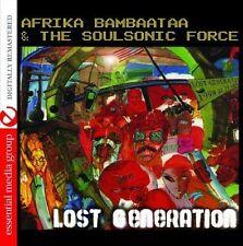 Lost Generation - Afrika Bambaataa & The Soul Sonic Force (2013, CD NEUF)