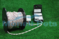 14 gauge twisted wire for underground inground electric dog fence 100 ft