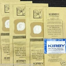 4 Kirby Micron Vacuum Bags Ultimate G Diamond G6 G5 G4 G3 4 Bags 197294 197394