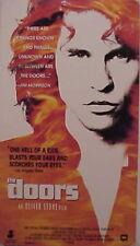 The DOORS Oliver Stone Film VAL KILMER 1991 VHS Tape