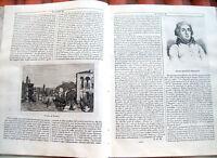 1839 BELLISSIMA STORIA E VEDUTA DI VERONA ANIMATA E RARA