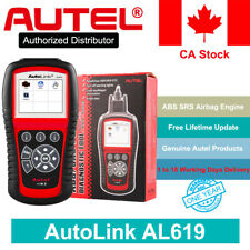 Autel AL619 OBD2 Engine Code Reader Vehicle Diagnostic ABS SRS Airbag Scan Tool