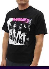 Ramones Punk Rock Band Graphic T-Shirts Pink