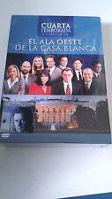 """DVD """"EL ALA OESTE DE LA CASABLANCA 4 CUARTA TEMPORADA"""" PRECINTADA 6 DVD"""