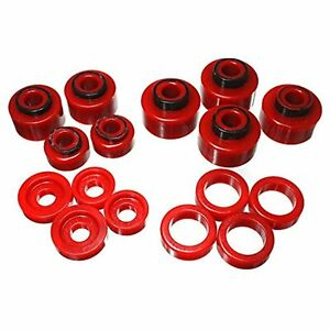 Energy Suspension 4.4120R  Crew Cab Body Mount Bushing Ford F250 F350 Super Duty