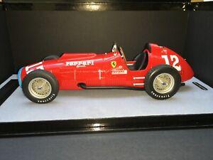 1:18 Tecnomodels TEC 18193B Alberto Ascari Ferrari 375 F1 Indianapolis 500 1952